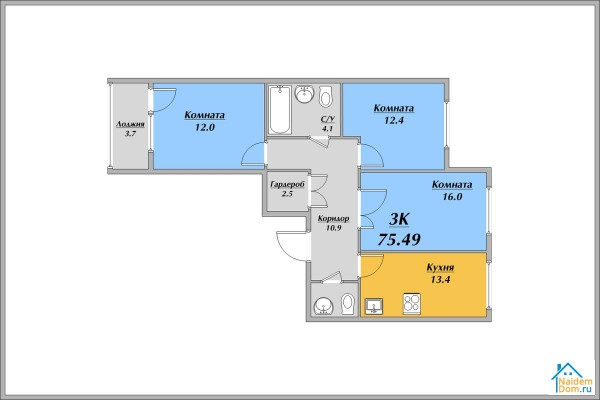 Самоцветы планировки квартир
